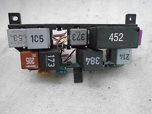 vi611412 00 02 vw passat fuse box relay panel 8d0 937 503