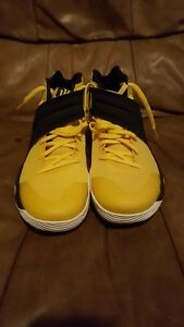 reputable site f5b02 59448 Image is loading Nike-Kyrie-2-Australia-Basketball-Shoes-Yellow-Black-
