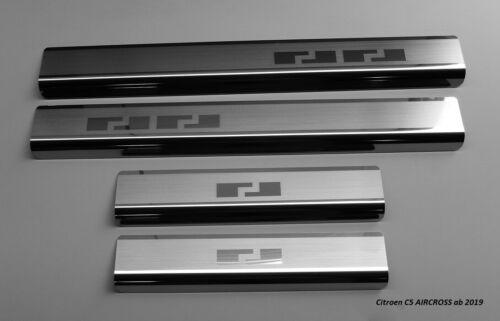 Einstiegsleisten aus Edelstahl passend für  Citroen C5 Aircross ab 2019