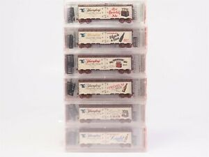 N-Scale-Micro-Trains-MTL-NSC-01-34-Yuengling-Brewery-Beer-Reefer-6-Pack-SEALED