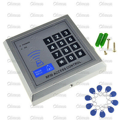Security RFID Proximity Entry Door Lock Access Control System 3000 User +10 Keys