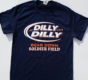 57b8c0d3aa2 Image is loading Chicago-Bears-Dilly-Dilly-Bear-Down-Soldier-Field-