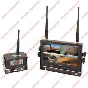 Digital-Wireless-Camera-Kit-for-Peterbilt-Kenworth-Freightliner-Volvo-Mack-Ford