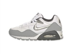 new product 807eb 9b841 Image is loading Nike-Wmns-Air-Max-Correlate-Leather-White-Grey-