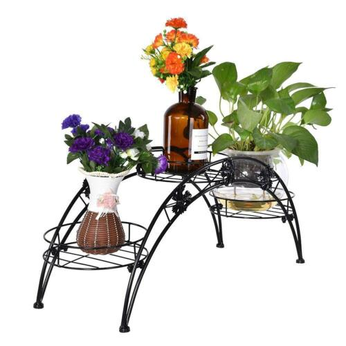 Pflanzentreppe Blumentreppe Topfboden Blumenregal Garten Regal Blumenständer HOT