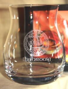 Image is loading LAPHROAIG-ISLAY-CREST-OFFICIAL-GLENCAIRN-CANADIAN-WHISKY- GLASS 5a6bdebaa