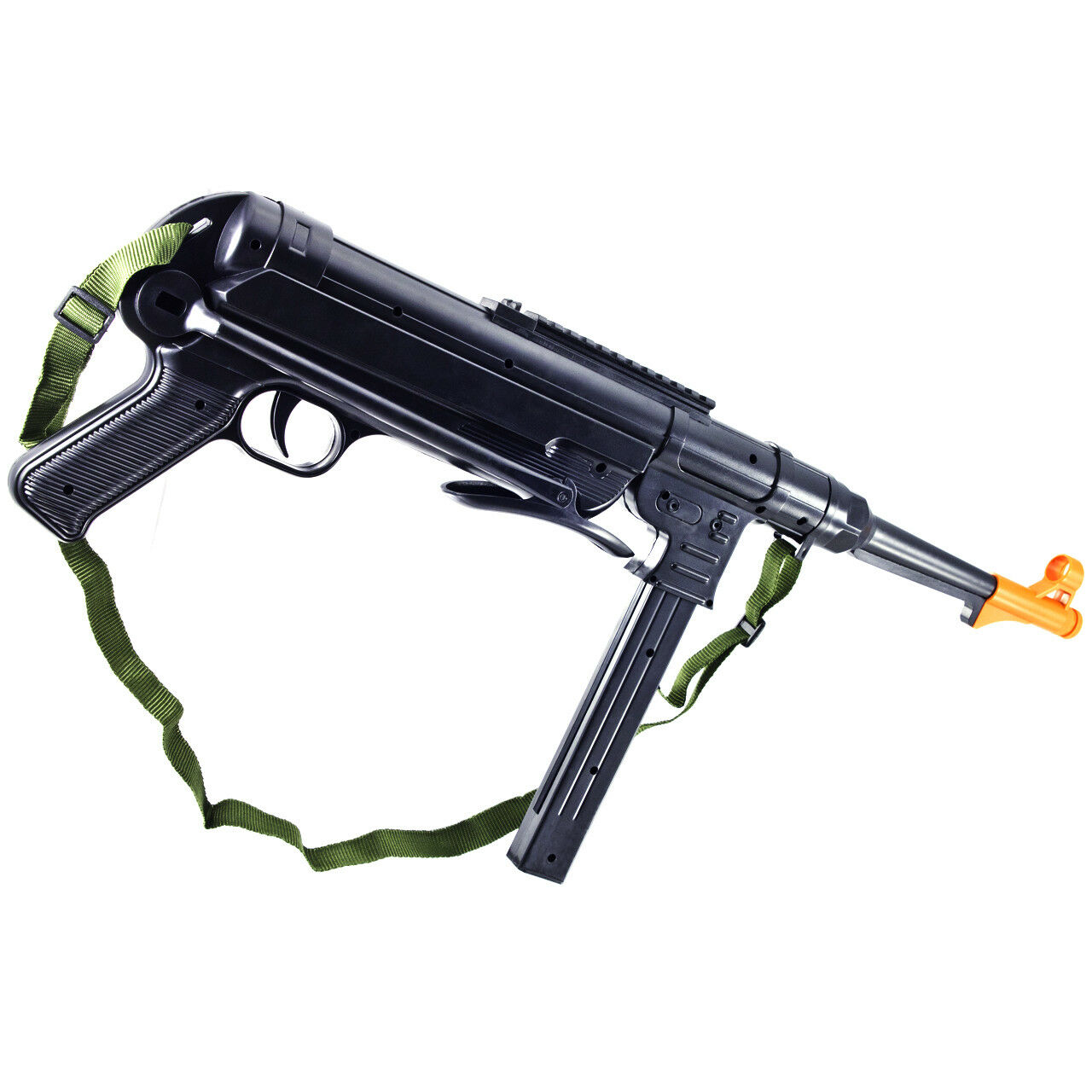 New Mp40 Spring Assault Smg Ww2 Airsoft Grease Gun