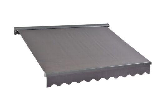 4x3m Stores d/'extérieur tissu markisentuch avec protection UV Prêt Cousu NEUF spd016