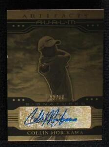2021 Upper Deck Artifacts Aurum Signatures 80/99 Collin Morikawa Rookie Auto RC