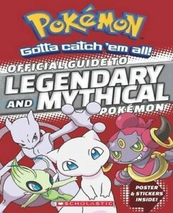 Official-Guide-to-Legendary-and-Mythical-Pokemon-Pokemon-New-Book-Paperbac