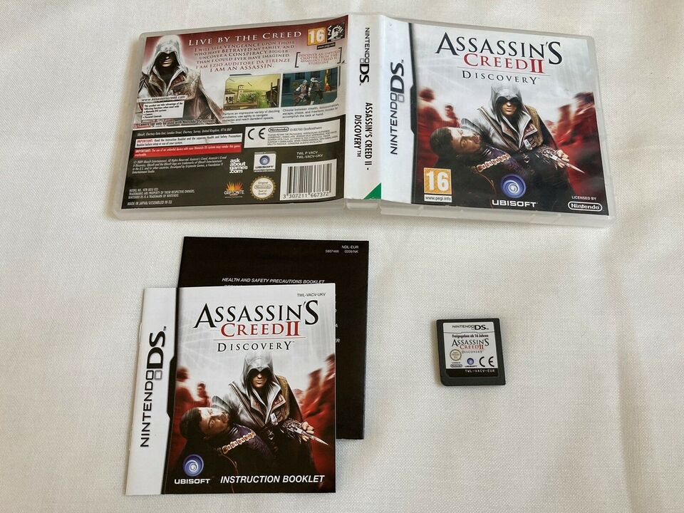 Assassins Creed II Discovery, Nintendo DS, action
