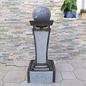 Clgarden design springbrunnen dsb4 zimmerbrunnen gartenbrunnen mit kugel granit ebay for Gartenbrunnen kugel