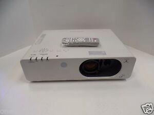 panasonic lcd projector pt fw430u wxga w remote 1036 original bulb rh ebay com