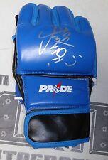 Kazushi Sakuraba Signed Pride FC MMA Fight Glove BAS Beckett COA UFC Autograph