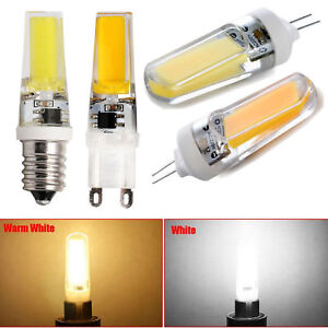 mini g4 g9 e14 dimmable 8w 10w cob led bulb lights silicone crystal lamp bright ebay. Black Bedroom Furniture Sets. Home Design Ideas