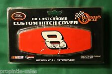 """Dale Jr # 8 Hitch Cover Truck Trailer SUV Metal Shaft 2/"""" /& 1 1//4/"""" Receiver Race"""
