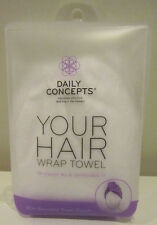 Daily Concepts Your Hair Wrap Towel - Brand New!
