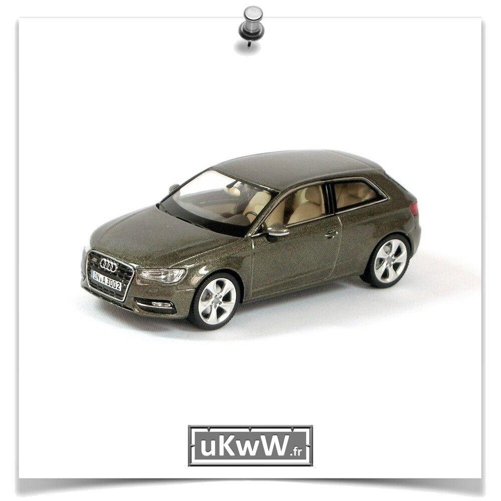 Schuco 1 43 - Audi A3 2012 anthracite métallisé