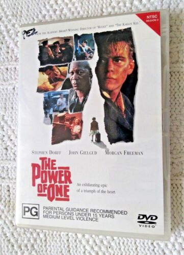 1 of 1 - The Power Of One (DVD, 2002) REGION-4, LIKE NEW, FREE POST WITHIN AUSTRALIA