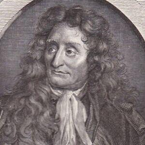 Portrait-XIXe-De-La-Fontaine-Jean-Fabuliste