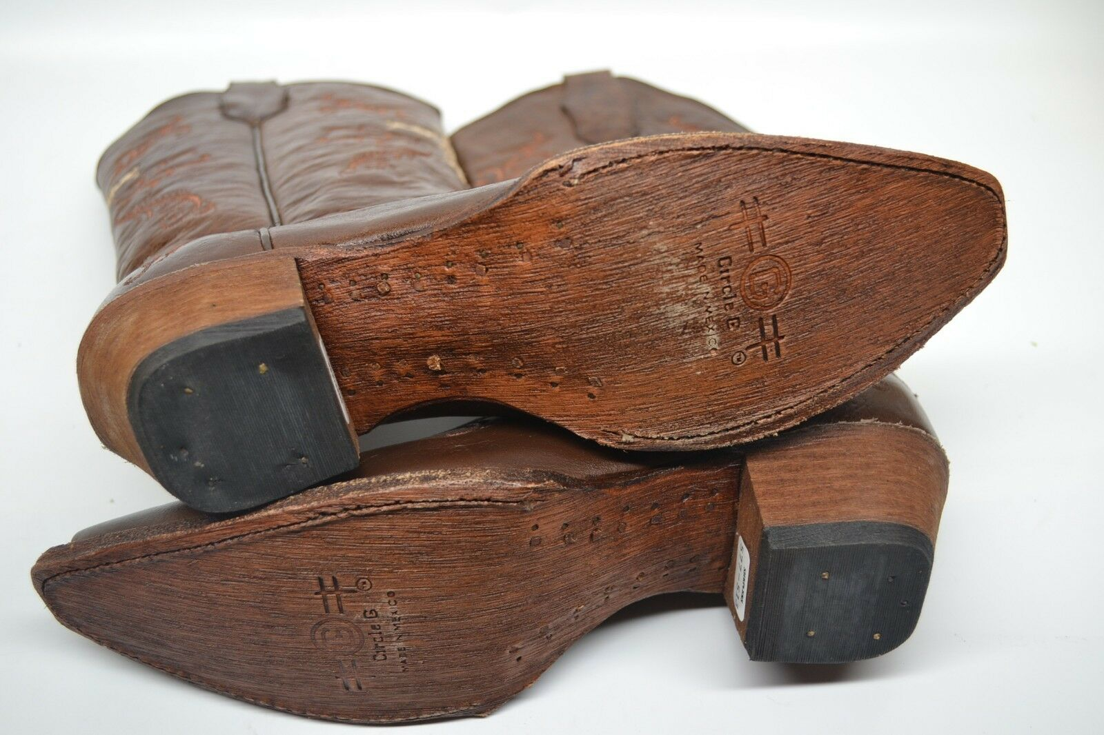 Circle G by Corral WOMENS 9 M Cowboy Western Western Western Boots Chocolate Cognac Cross L5039 2295f5