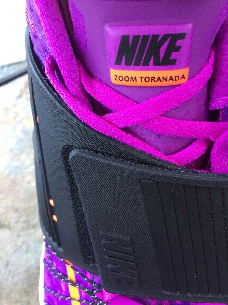 Nike toranada Zoom Air toranada Nike Naranja Fluorescente púrpura Tren Para hombre Zapatos Correr f1e091
