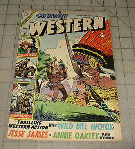 COWBOY WESTERN #53 (Feb 1955) VG Condition Comic
