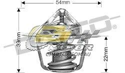 FOR Ford Bronco 1//1985-1985 5.8L OHV Carb C LowTemp DAYCO Thermostat