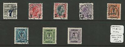 Angemessen Dänemark, Briefmarke, #181 // 190 Gebraucht, 1926-27, Jfz