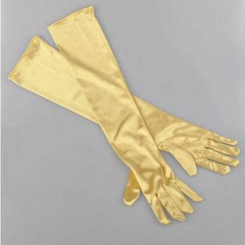 Hot Sale Satin Long Gloves Opera Wedding Bridal Evening Party Costume GLOVES