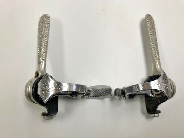 Vintage 1950's Campagnolo ''OPEN C'' Bicycle Shift Lever Set   free shipping worldwide