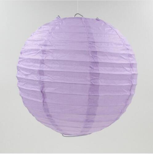 """5PCS6/""""8/""""10/""""12/""""14/"""" Chinese Round Paper Lanterns Lamp DIY Home Wedding Decoration"""