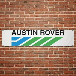 Austin-Rover-Banner-Garage-Workshop-PVC-Sign-Trackside-Car-Display