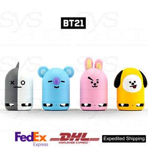 BTS-BT21-Official-Authentic-Goods-Friends-Duo-Bluetooth-Speaker-Figure-4Type