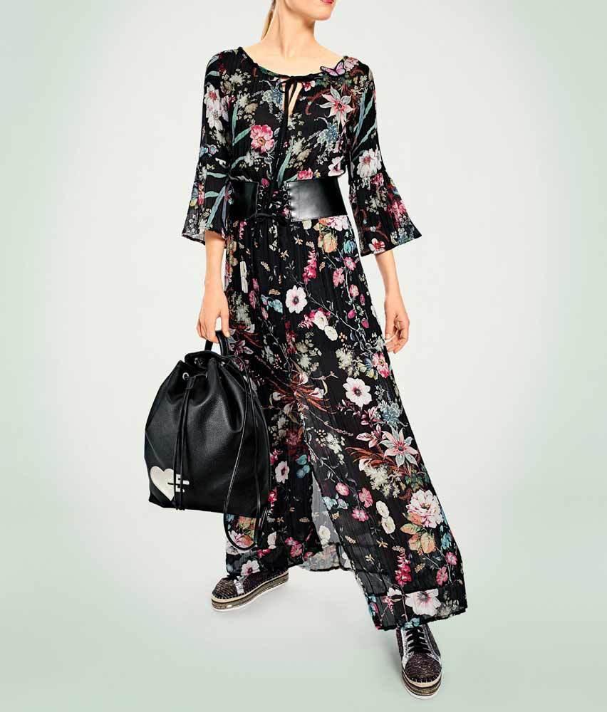 Heine - Best Connections Maxikleid bunt bunt bunt Gr 36 38 Kleid Abendkleid Business | Hervorragende Eigenschaften  | Vorzüglich  | Offizielle  7aa338