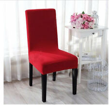 Stretch Spandex Seat Covers Chair Covers For Kitchen Dining Bar Party Slipcovers