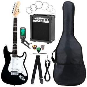 41433 - Mcgrey Rockit guitarra electrica set completo St Black