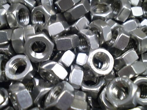 100 Edelstahl V2A Muttern Scheiben M1,6 M2 M3 V2A Sortiment DIN 934