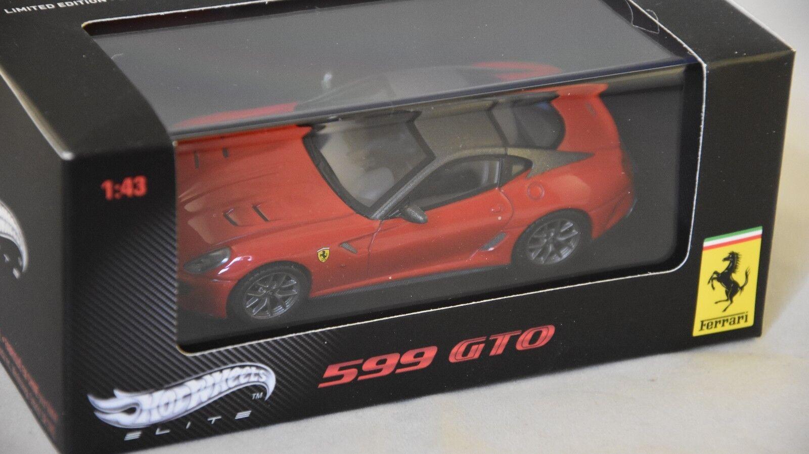 Elite wt6267-ferrari 599 gto red 2010 1 43
