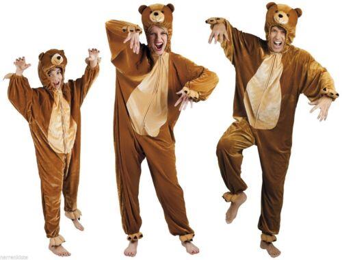 Bär Bären Kostüm Overall Plüsch Tier Bärenkostüm Bärenoverall Eisbär Löwe Tiger