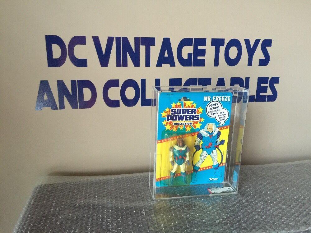 Vintage Kenner Super Powers Mr. Freeze 1986 MOC AFA 80/80/85