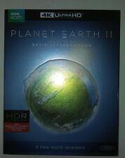 Planet Earth II (DVD, 2017, 3-Disc Set, 4K Ultra HD Blu-ray)