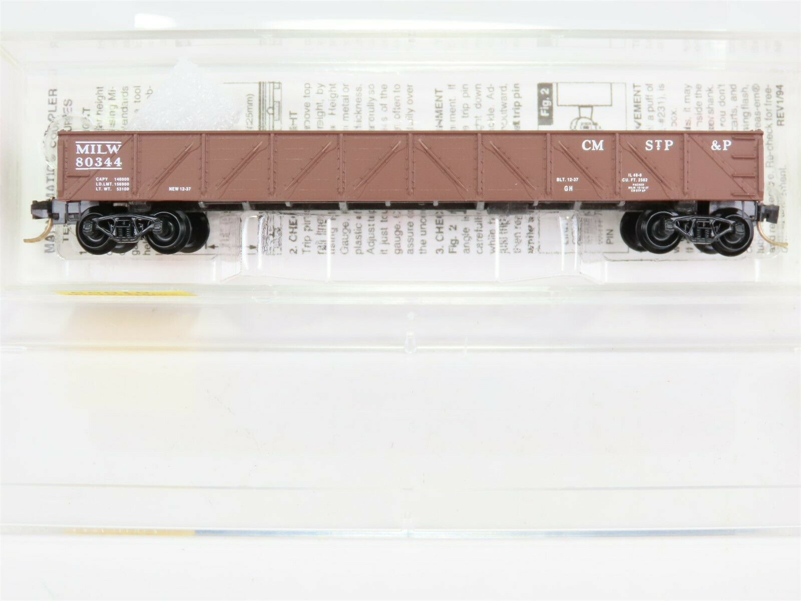 Micro Trains MTL 46230 Frisco SLSF 51245 50/' Gondola