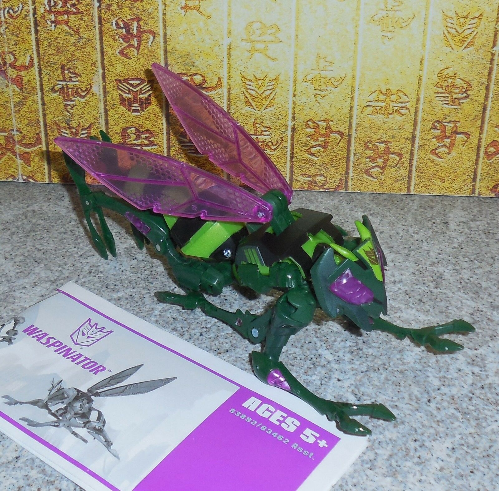 Transformers Animated WASPINATOR Complete Hasbro Deluxe