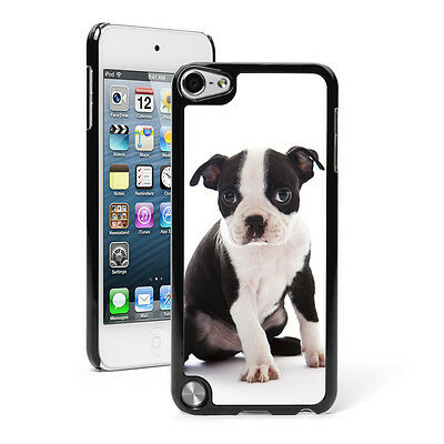 For Apple iPod Touch 4th 5th 6th Hard Case Cover 1190 Bulldog and Puppy