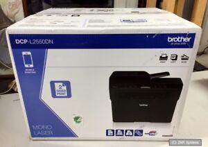 Brother-DCP-L2550DN-ALL-IN-ON-Laser-A4-S-W-Drucken-Scannen-Kopieren-Duplex