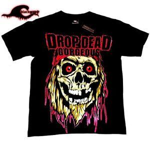 Drop-Dead-Gorgeous-Skull-Band-T-Shirt