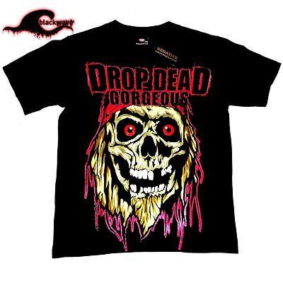Drop Dead Gorgeous - Skull - Band T-Shirt | eBay Drop Dead Clothing History