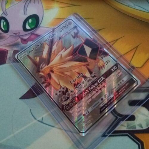 Pokemon Dusk Mane Necrozma GX Full Art 145//156 Prism Rare
