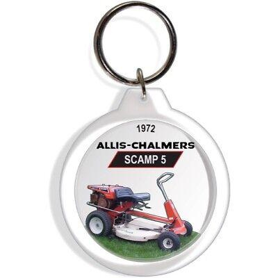 Allis Chalmers 1961 1968 B1 Garden Riding Lawn Mower Tractor Keyring Key FOB AC